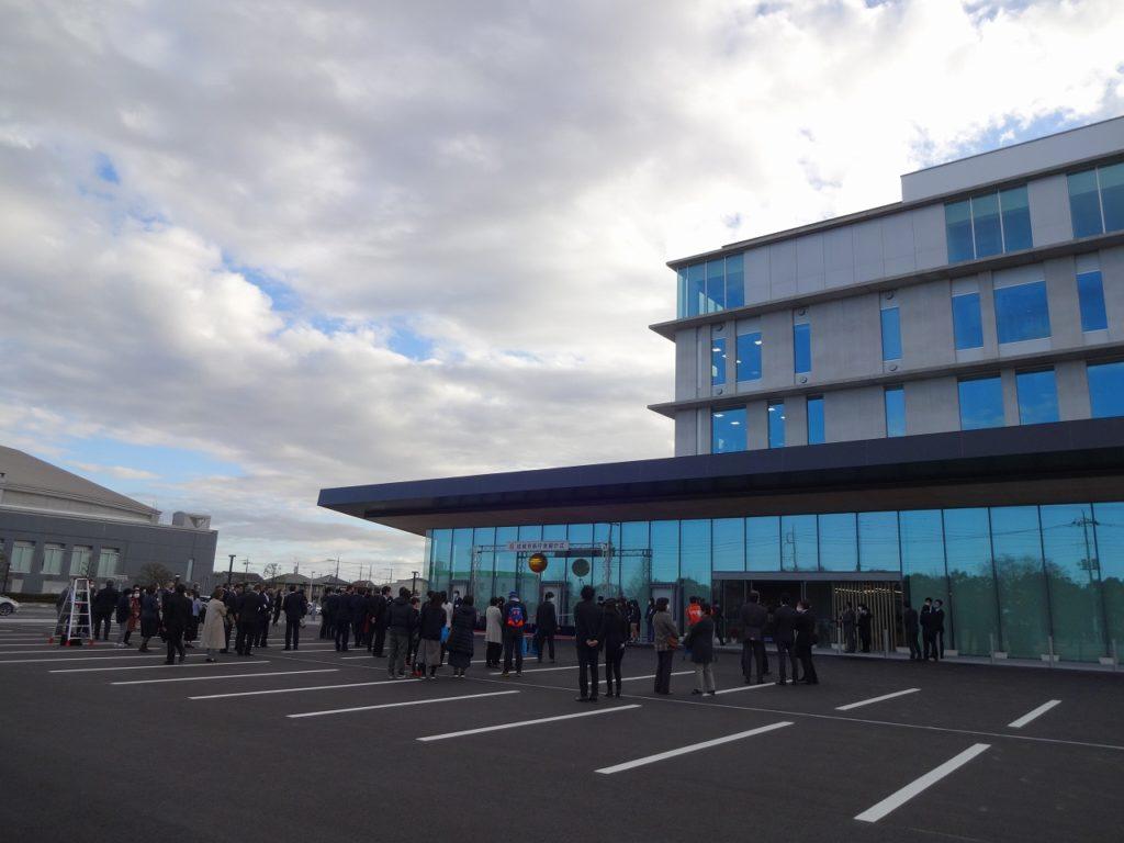 新庁舎の開庁